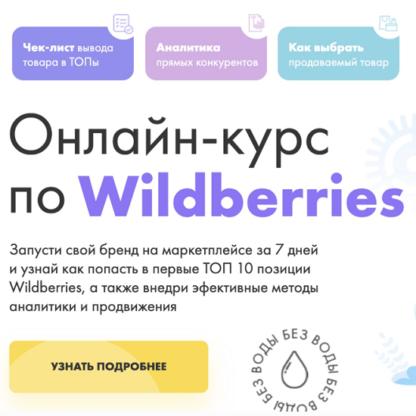 Полный курс по Wildberries -Скачать за 200