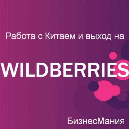 БизнесМания — работа с Китаем и выход на Wildberries -Скачать за 200