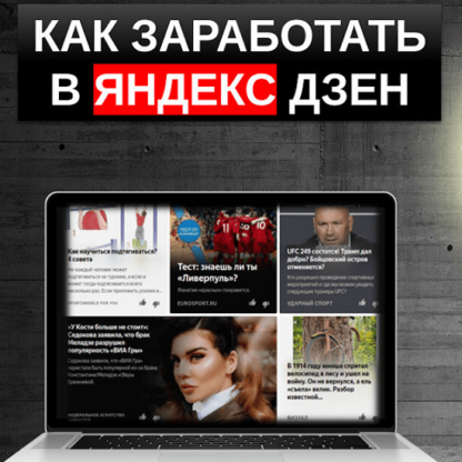 Заработок на Яндекс.Дзен  [Евгений Фридман (Корытько)]-Скачать за 200
