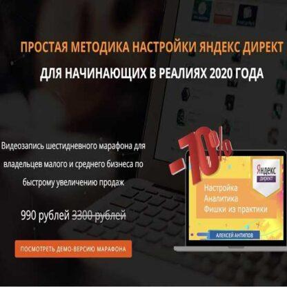 Яндекс.директ для малого и среднего бизнеса. «Запуск продаж с минимальным бюджетом в реалиях 2020 года»-Скачать за 200