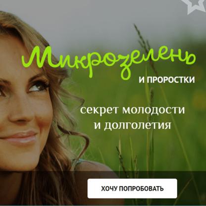 Микрозелень у вас дома: зеленые проростки для жизни и хорошего иммунитета -Скачать за 200