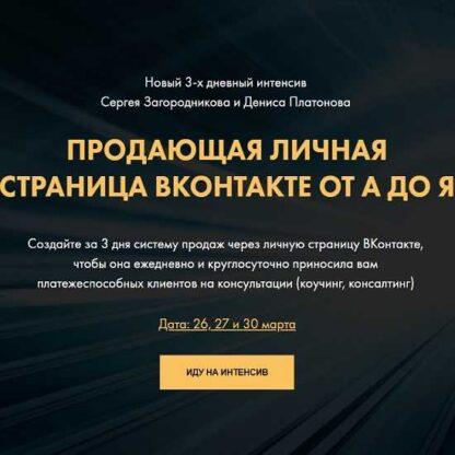 Продающая личная страница ВКонтакте от А до Я -Скачать за 200