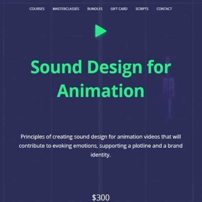 Саунд-Дизайн для анимации [Daruma Audio] -Скачать за 200