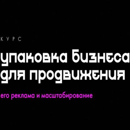 [Феликс Зинатуллин] Упаковка бизнеса для рекламы -Скачать за 200
