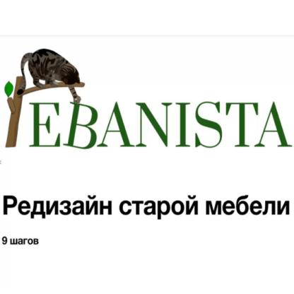 [Ebanista] Редизайн старой мебели -Скачать за 200