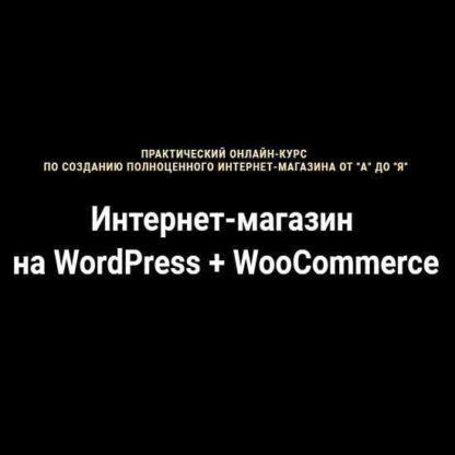Интернет-магазин на WordPress + WooCommerce -Скачать за 200