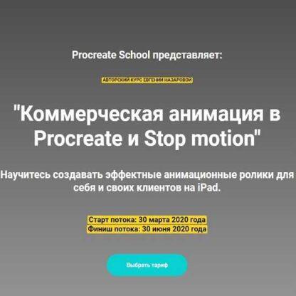Коммерческая анимация в Procreate и Stop motion -Скачать за 200